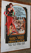 Used - Cartel de Cine  FIESTA SALVAJE  Vintage Movie Film Poster - Usado