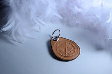 One Piece Donquixote Doflamingo Leather Keychain