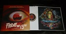HARRY MANFREDINI Friday The 13th Hand-Signed Vinyl LP Waxwork Murky EXACT PROOF