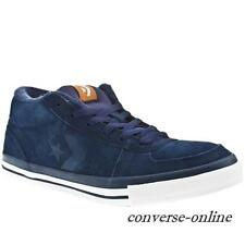 RARE Mens CONVERSE All Star ATHENS MID BLUE SUEDE SKATE Trainers Shoes SIZE UK 8