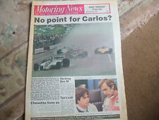 Motoring News 12 February 1981 Audi Quattro Galway Daytona 24 South African GP
