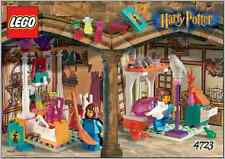 Lego 4723 Harry Potter DIAGON ALLEY SHOPS w/Instructions NO Cardboard backdrop