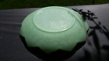 "Jadeite Fire King Lotus Leaf Plate -  Anchor Hocking 8"" Across"