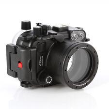 40m Waterproof Underwater Housing Case For Canon PowerShot G7X Mark II Camera