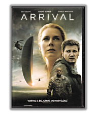 Arrival DVD Movie, Amy Adams, Jeremy Renner (2016) Drama, Mystery, Widescreen