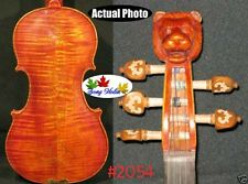 Strad style SONG Brand Maestro 5 strings violin 4/4 lion head neck #2054