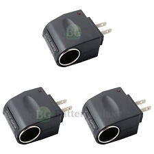 3 110V-240V AC/DC to 12V Adapter Converter for Samsung Galaxy S4 S5 Mini Active