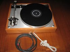TECHNICS THORENS TURNTABLE 24K RCAs AUDIO INTERCONNECT RCA CABLE W/GROUND 12 FT