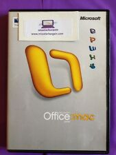 MICROSOFT OFFICE MAC 2004 UPGRADE BUSINESS SUITES RETAIL WITH PRODUCT KEY