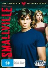 Smallville : Season 4 (DVD, 2006, 6-Disc Set) (REF TS BOX 1)