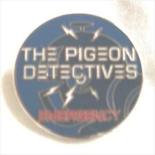 *REDUCED TO CLEAR* Pigeon Detectives enamel badge.,Oasis,Mod,Indie