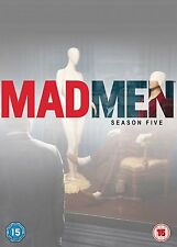 MAD MEN - SEASON 5  - DVD - REGION 2 UK