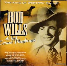 BOB WILLS & HIS TEXAS PLAYBOYS - THE KING OF WESTERN SWING (NEW SEALED CD)