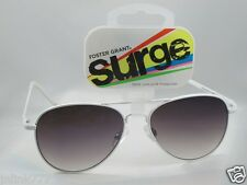 E76:New $9.99 FG Surge Aviator Sunglasses from USA-White-Nice Gift