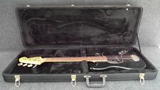 NEW BLACK HARD CASE FITS FENDER MUSTANG & MUSIC MASTER BASS GUITARS