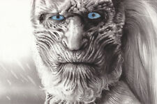 "Game of Thrones White Walker 8x12"" Stretched Canvas Art Print"