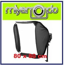 80x80cm Portable Soft Box Softbox Kit For Flash Photography