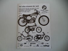 advertising Pubblicità 1975 MOTO PUCH MC 125/MC 175/MAXI/50