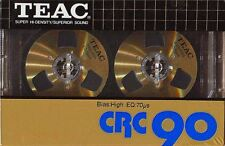 TEAC CRC 90 Cassette Tape Brand New Unopened Mint!