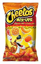 Cheetos Mix-Ups Cheese Snacks, Flamin' Hot and Cheezy Mix, 8 Ounce