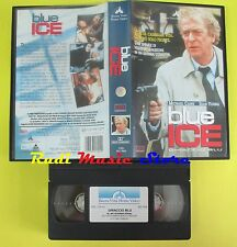 film VHS BLUE ICE ghiaccio blu 1996 BUENA VISTA WS 7004 caine young (F25) no dvd