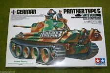 Tamiya GERMAN PANTHER TYPE G LATE VERSION 1/35 Scale  Kit 35176
