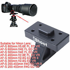 Lens Support Collar Tripod Mount Ring Base fr Nikon AF-S 200-400mm f/4G ED VR II