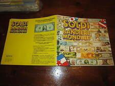 ALBUM DI FIGURINE  BAGGIOLI SOLDI E BANDIERE MONDIALI ANNO 1988 CON 60 FIGURINE