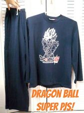 Dragon Ball Super Goku Pajamas Set T-shirt Size Large ^^ Limited Only Japan COOL
