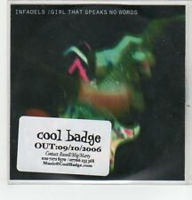 (ER820) Infadels, Girl That Speaks No Words - 2006 DJ CD