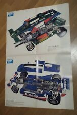 Poster Autosprint Anno  :  Martini - Lotus e Candy - Tyrrel