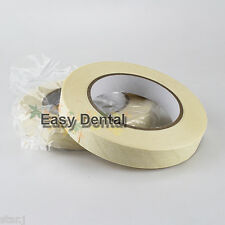 2 Rolls Autoclave Sterilization Indicator Tape Dental Tattoo Supply 19mmx50M