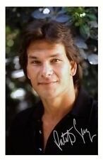 PATRICK SWAYZE AUTOGRAPHED SIGNED A4 PP POSTER PHOTO