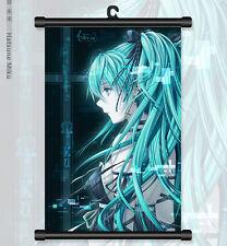 "8""*12"" Home Decor Japanese Anime VOCALOID hatsune miku Wall Poster Scroll 72"