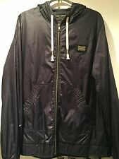 Dolce & Gabbana Plate Logo Double Lined Jacket Navy Medium 48 RRP £450