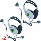 2 Packs Live Headset Headphone With Microphone for XBOX 360 Slim NEW US