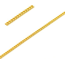 6ft Gold Plated Soldered Link Curb Chains 3x2mm Findings Jewelry making  DIY S35