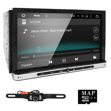 7'' Smart Android 4.4 3G WiFi Double 2DIN Car Radio Stereo DVD Player GPS+Camera
