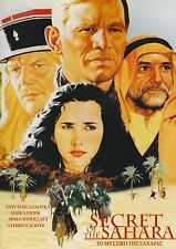 SECRET OF THE SAHARA (1988) Michael York, Ben Kingsley DOUBLE DVD SEALED