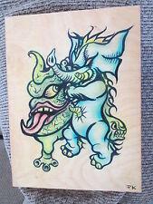 Paul Kaiju signed original painting