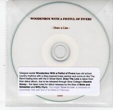(DS342) Woodenbox With A Fistful Of Fivers, Draw A Line - 2009 DJ CD