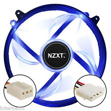 NZXT FZ-200 AIRFLOW BLUE LED FAN 200mm 20DBA SLEEVE BEARING & 3-PIN CONNECTOR
