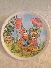 "VTG 1980's Biskitts Hanna-Barbera Cartoon Dog Child's Melamine 9"" Plate"