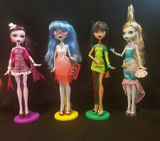 Monster High Dawn of the Dance Draculaura, Ghoulia, Cleo and Lagoona