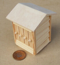 1:12th Scale - Wooden Bee Hive Dolls House Miniature Garden Accessory A&D