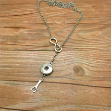 NEW Fashion Bottle opener gift women Necklace fit 18mm noosa snap button AE01