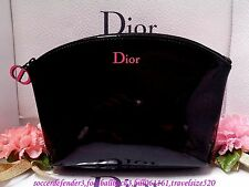 Dior ☆【Dior Red LOGO Black Patent Leather Fashion Cosmetics Bag】☆2015 New (NPIG)