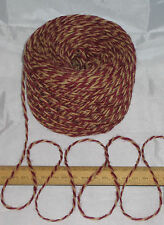 100g ball Red Wine & Ginger Marl 100% Pure Wool British Breed knitting dk EFW508