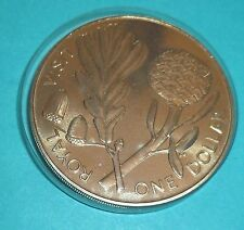 1981 NEW ZEALAND ONE DOLLAR CROWN ROYAL VISIT COMMEMORATION