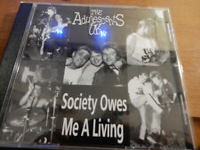 The Adolescents - Society Owes Me A Living 6 track cd with lycris Punk